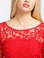 ARMANI EXCHANGE FLORAL LACE OVERLAY SHEATH DRESS Mini dress Woman e