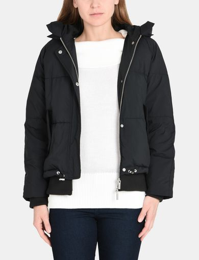 HOODED MODERN PUFFER JACKET