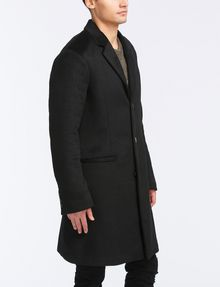 ARMANI EXCHANGE TAILORED WOOL TOPCOAT Coat Man d