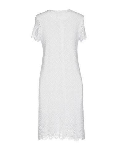 Фото 2 - Женское короткое платье SUN 68 белого цвета