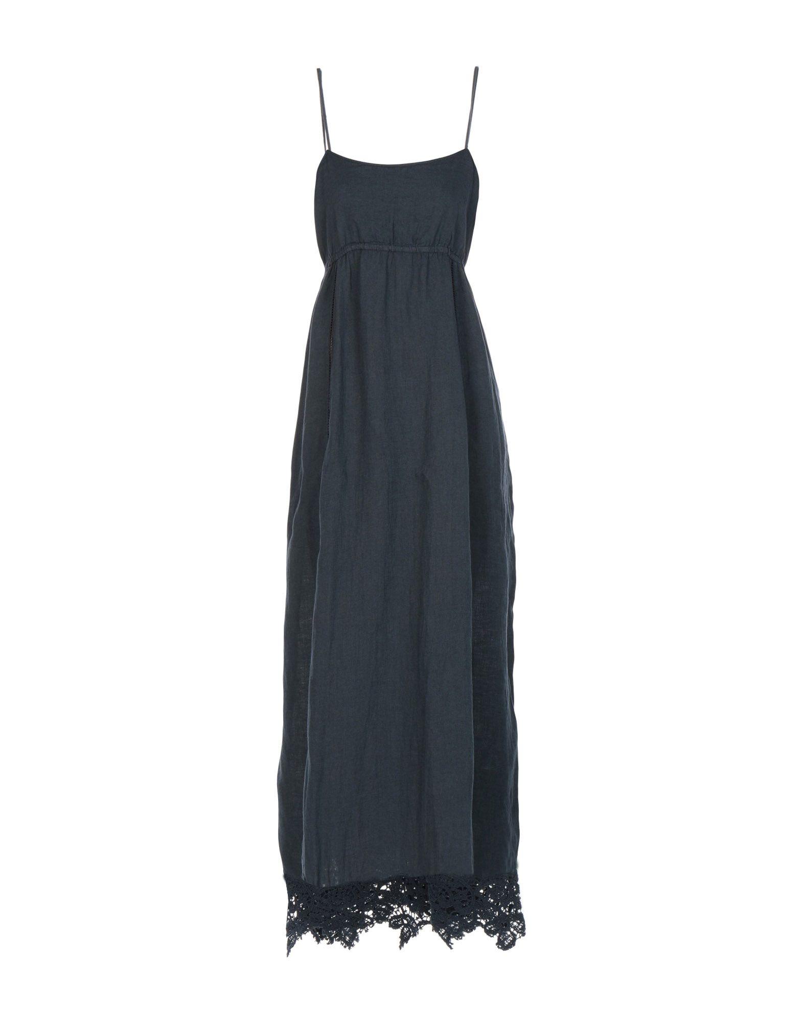 120% Длинное платье платье без рукавов с кружевной вставкой на спинке