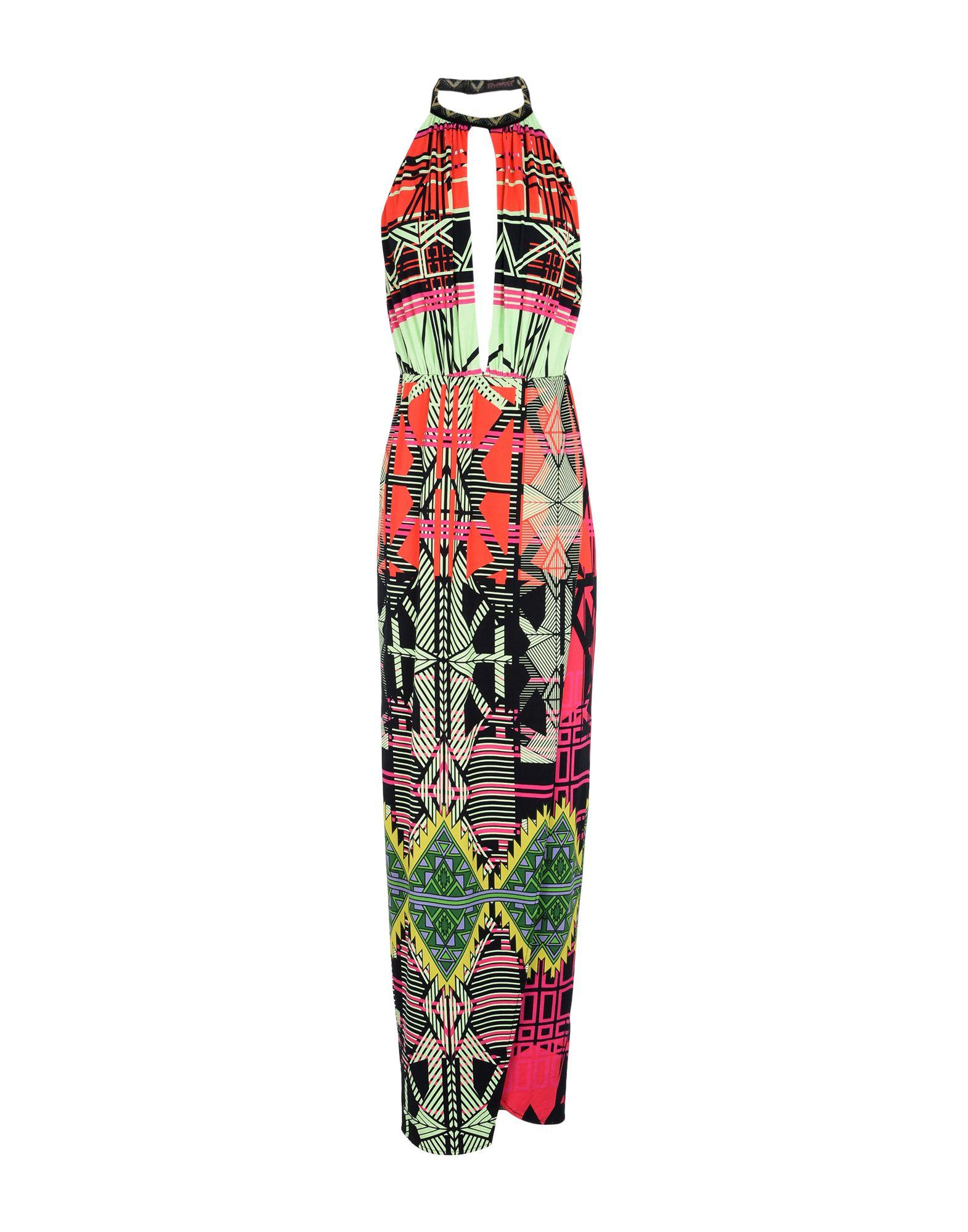CUSTO BARCELONA Длинное платье платье короткое спереди длинное сзади летнее