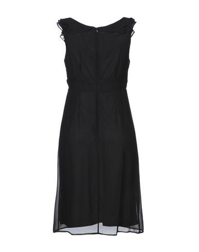 Фото 2 - Платье до колена от LUCKYLU  Milano черного цвета