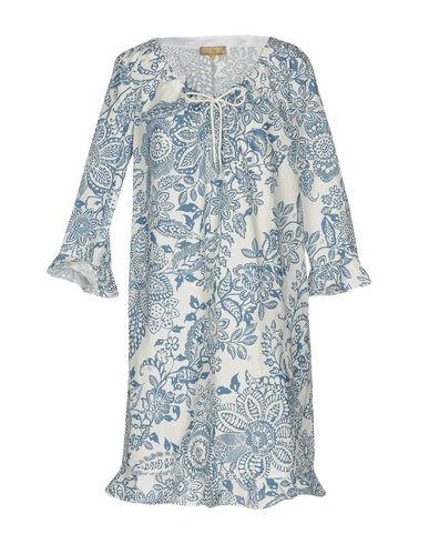 Фото - Женское короткое платье FAY пастельно-синего цвета