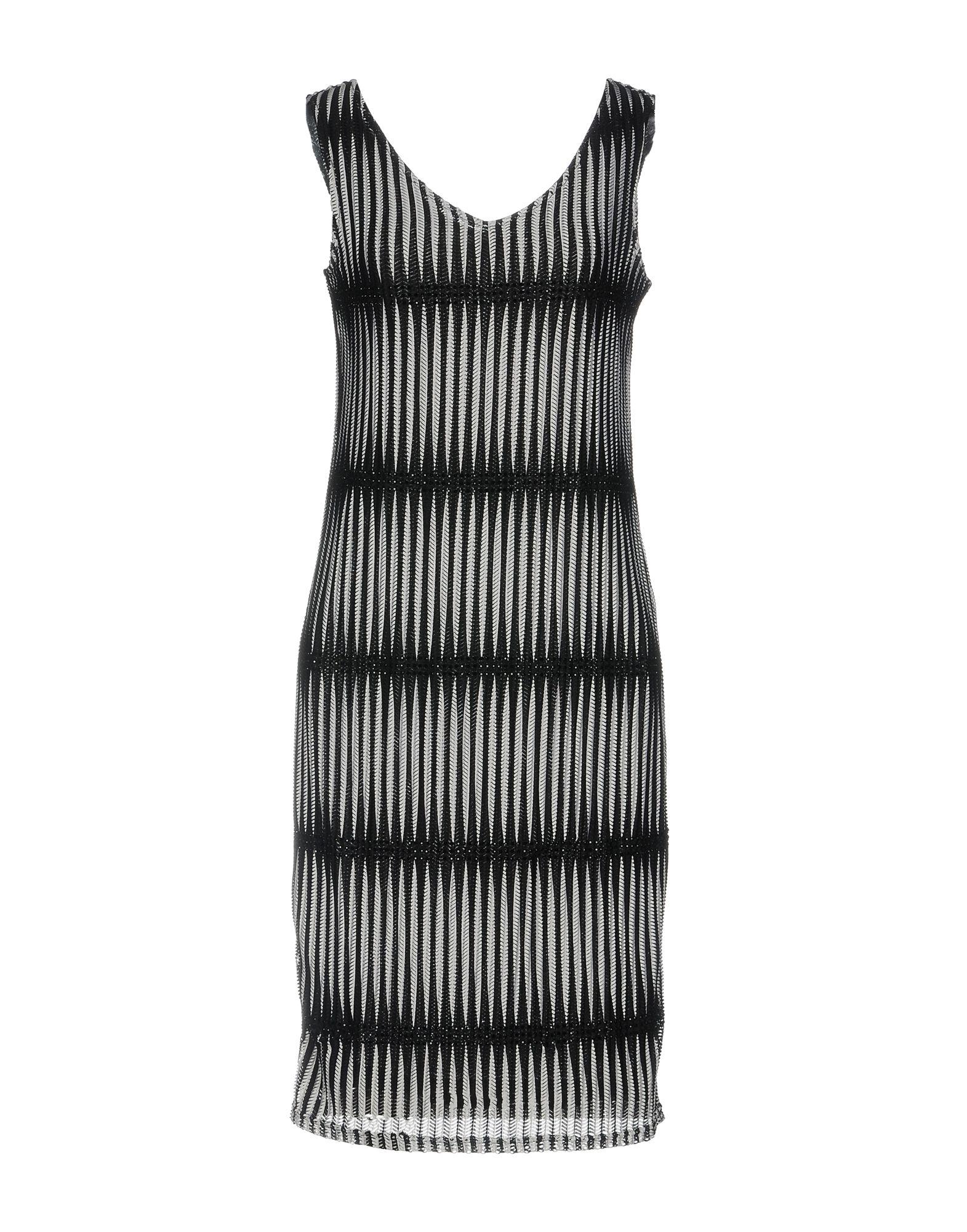 цена CLIPS MORE Платье до колена онлайн в 2017 году