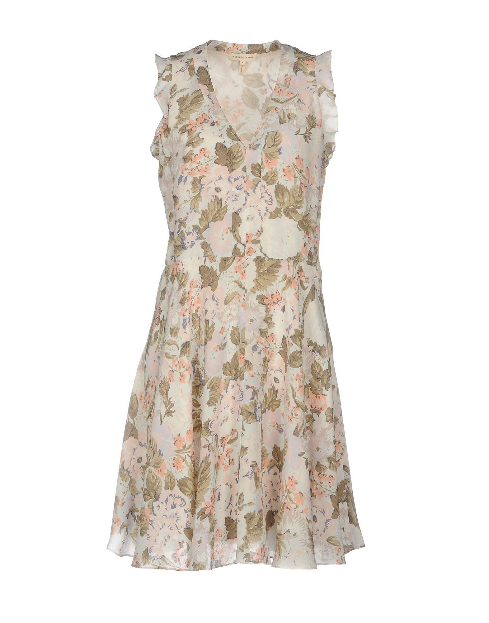 где купить REBECCA TAYLOR Короткое платье по лучшей цене