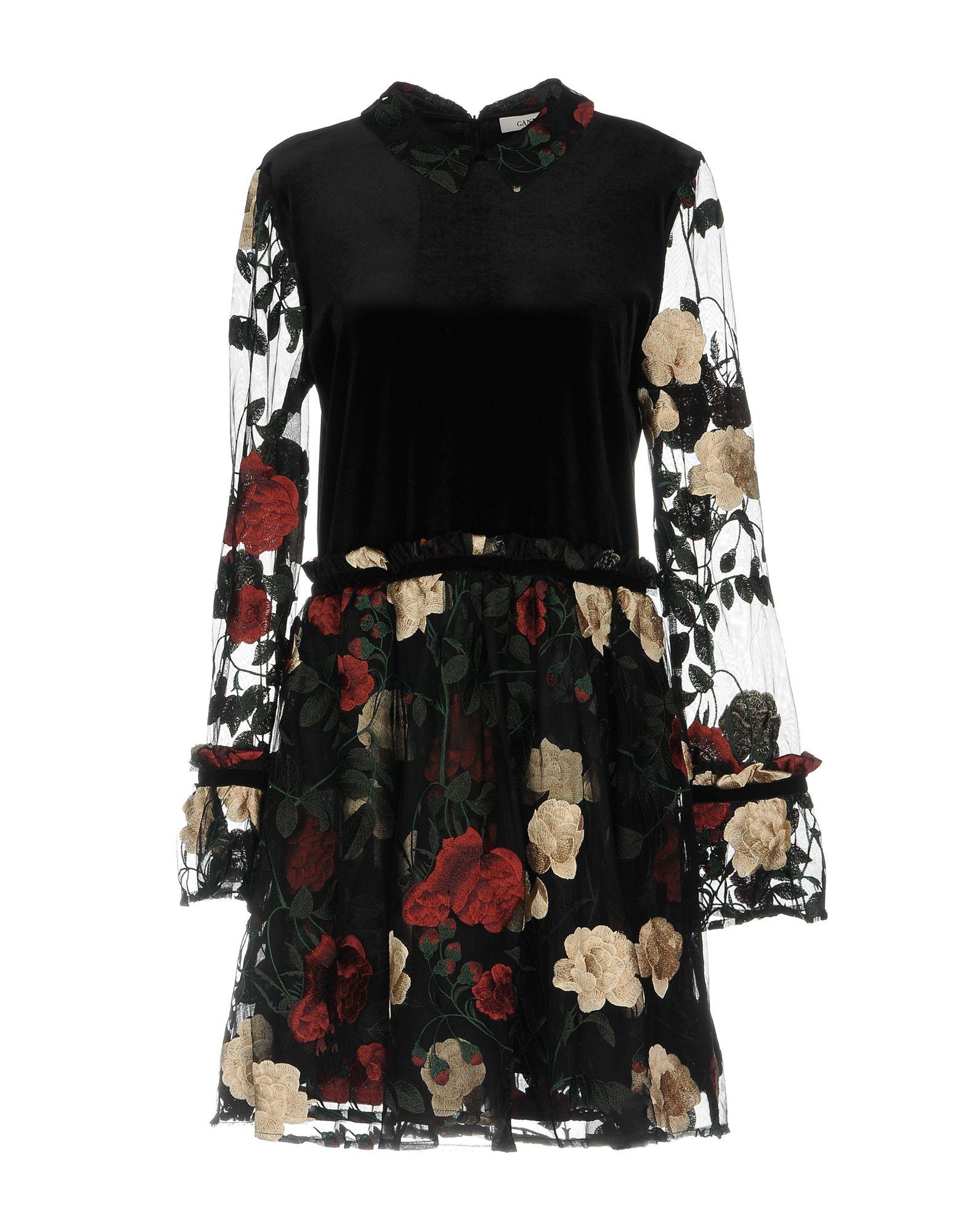 GANNI Короткое платье ganni короткое платье