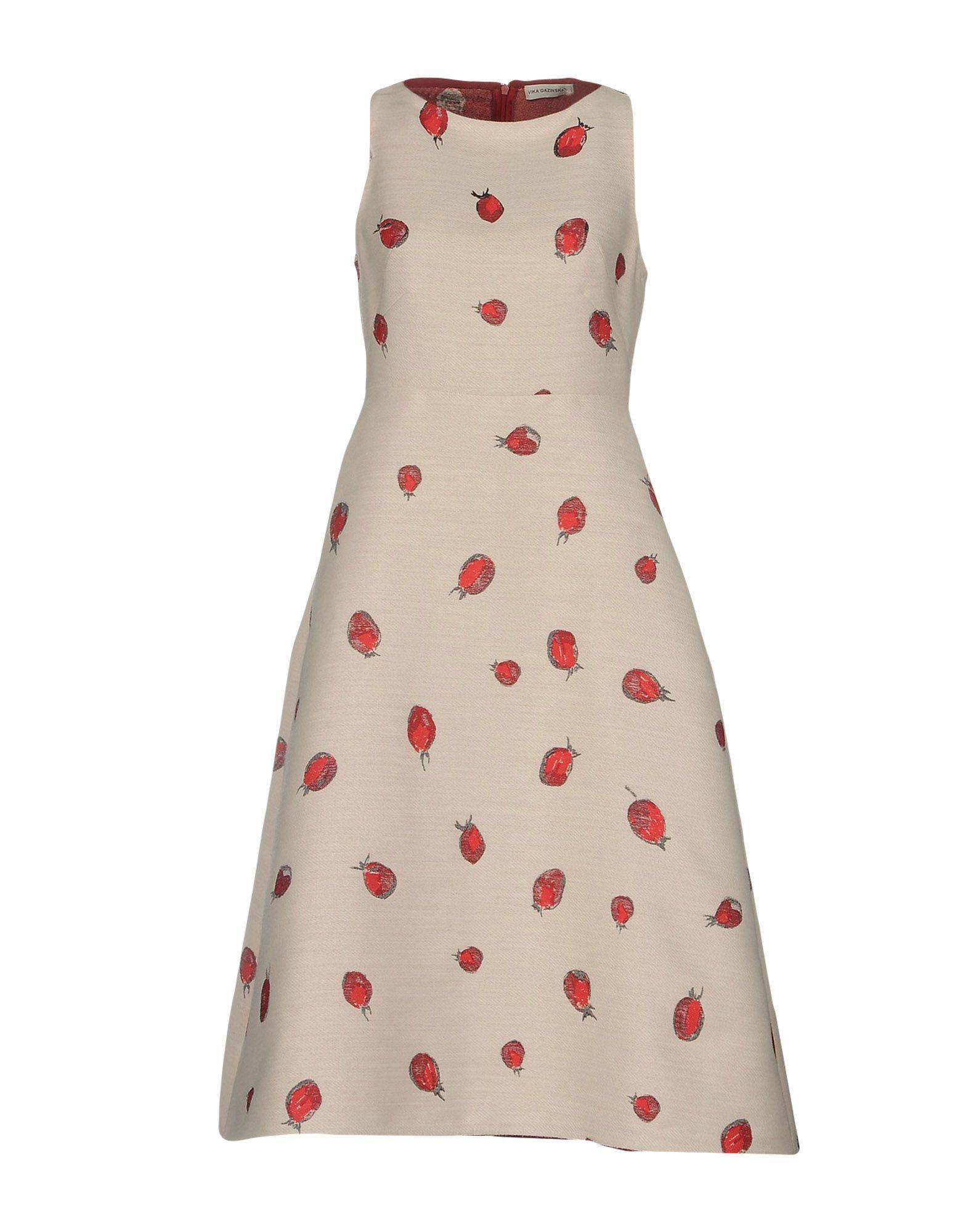 VIKA GAZINSKAYA Платье длиной 3/4 цена 2017