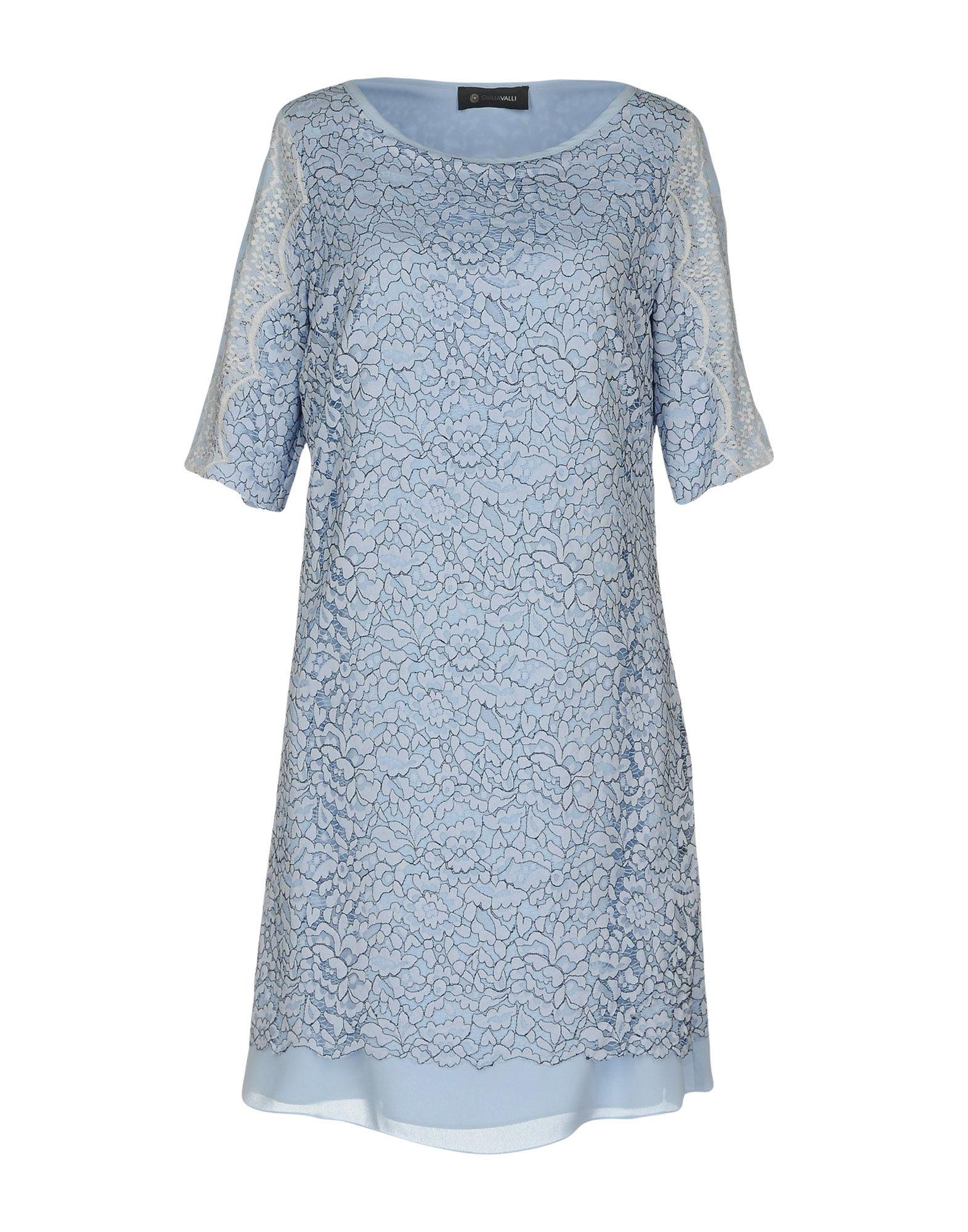 цена GIULIA VALLI Короткое платье онлайн в 2017 году