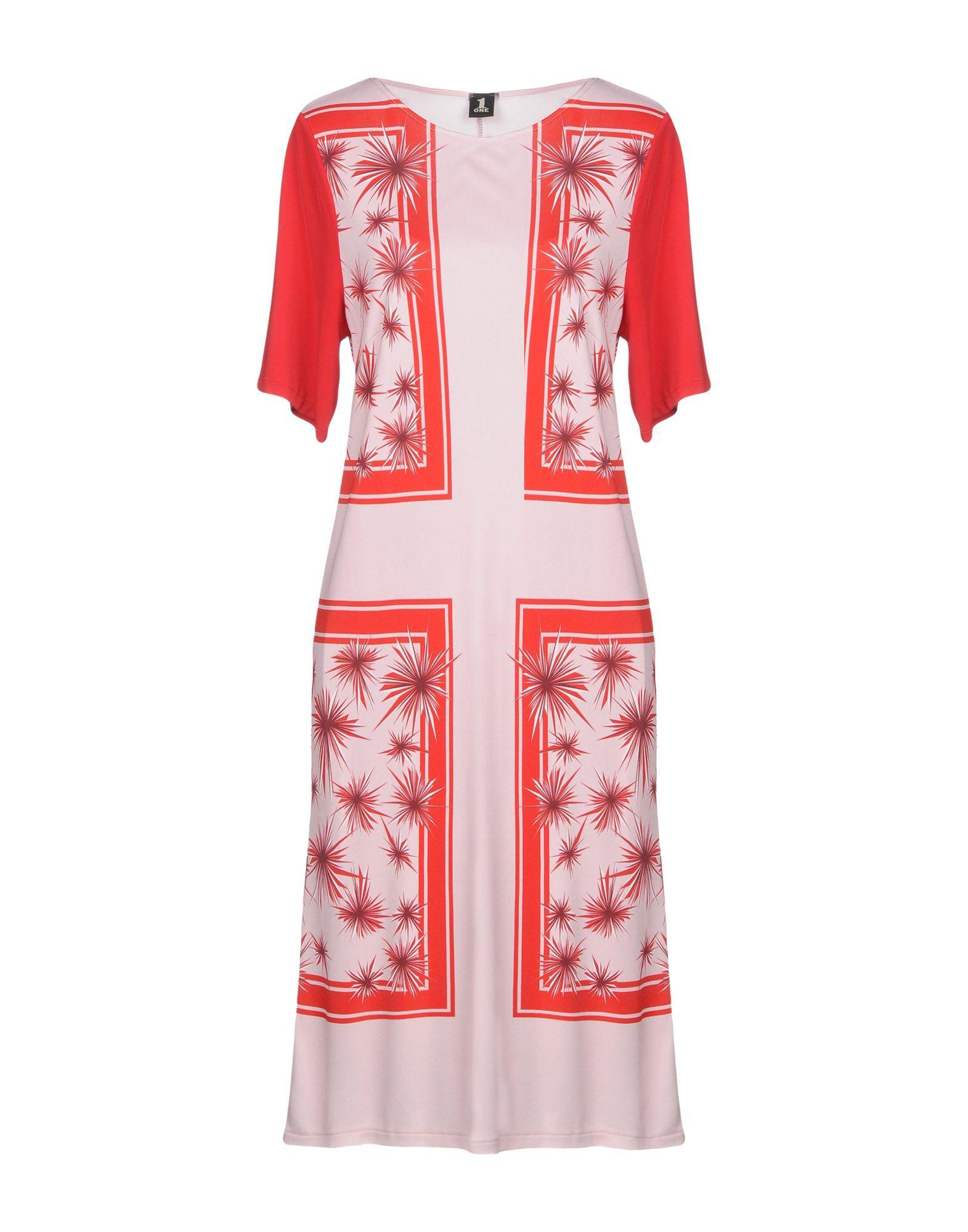 купить 1-ONE Платье до колена по цене 9250 рублей