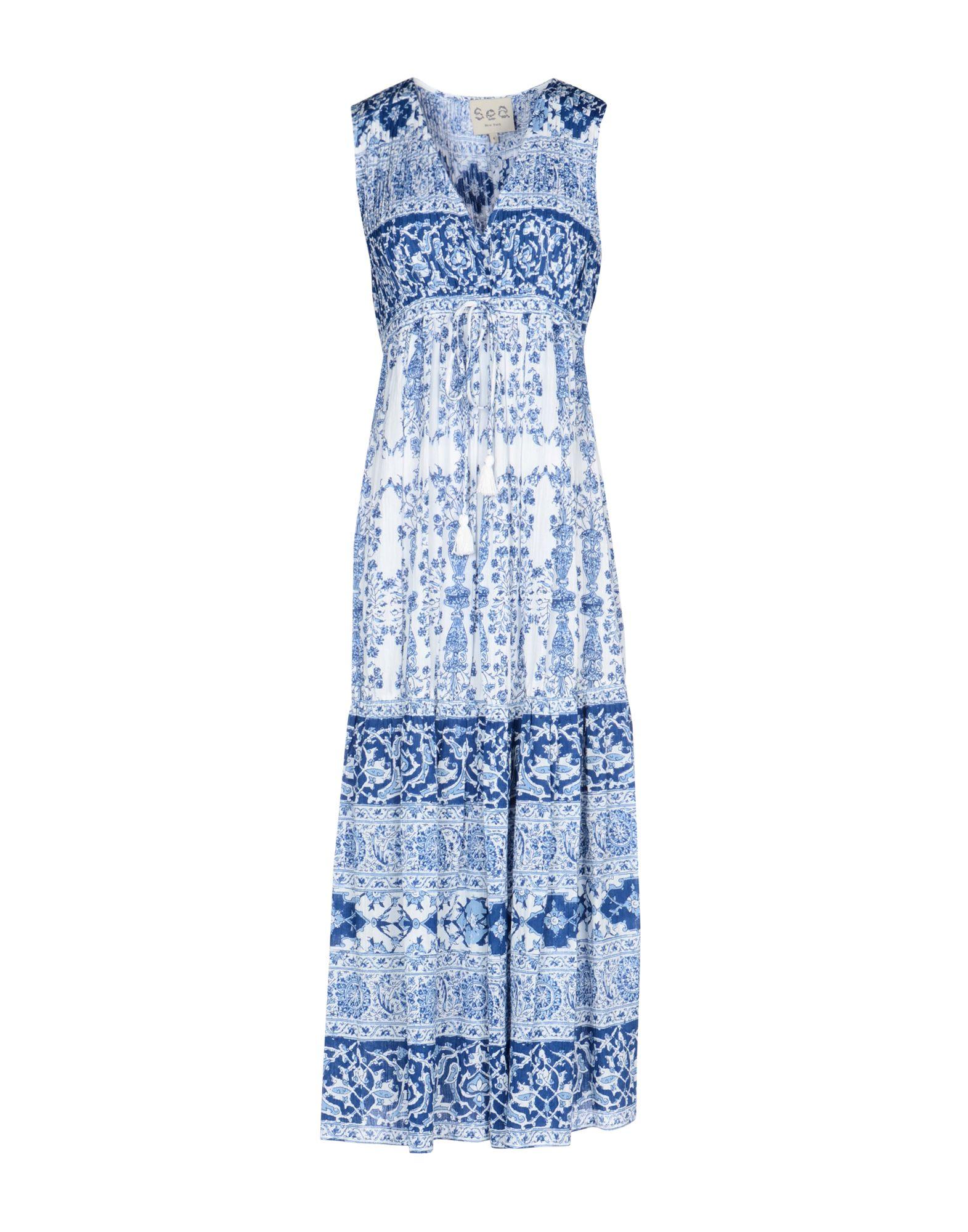 SEA Платье длиной 3/4 lisa corti платье длиной 3 4