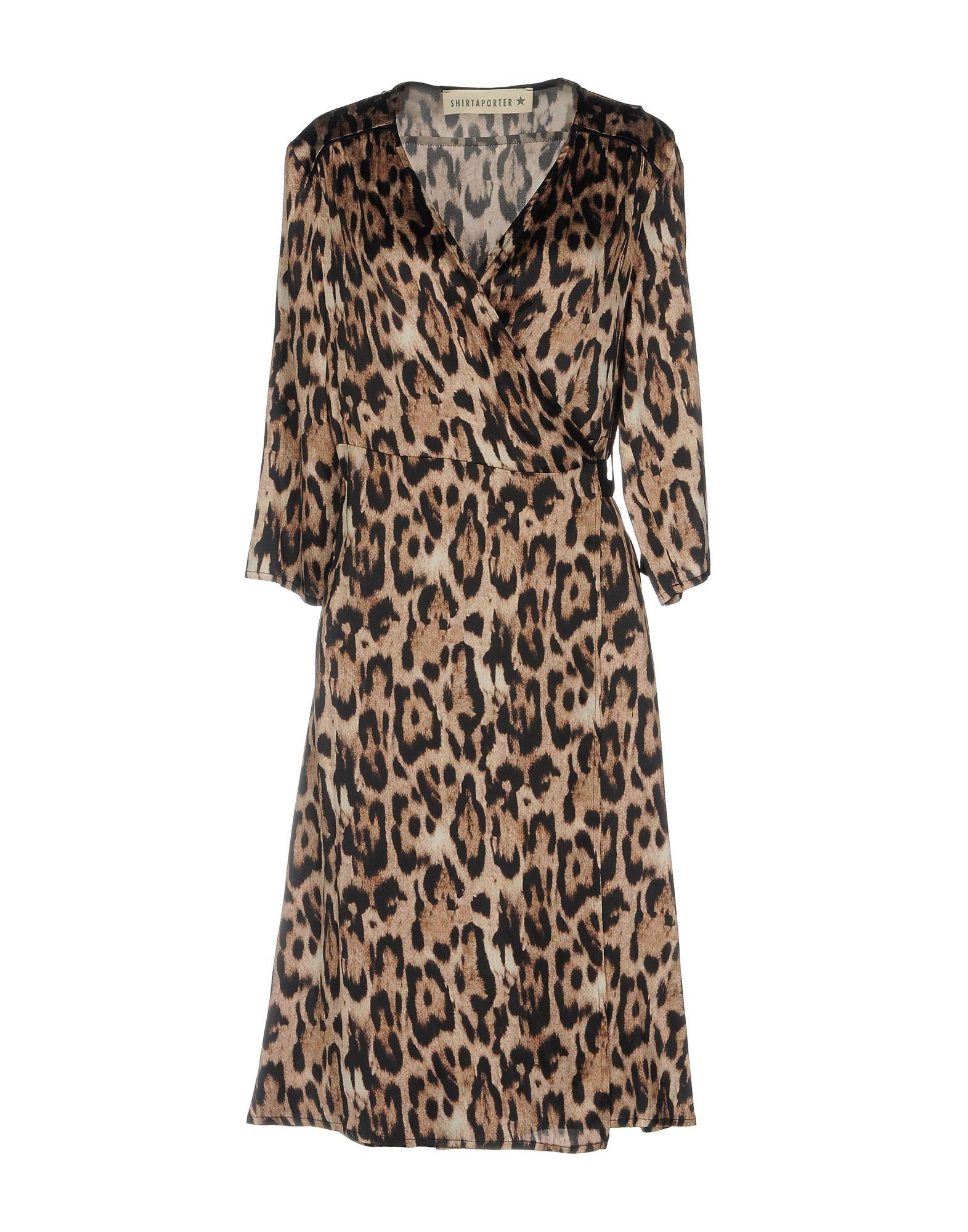 SHIRTAPORTER Платье до колена shirtaporter платье длиной 3 4