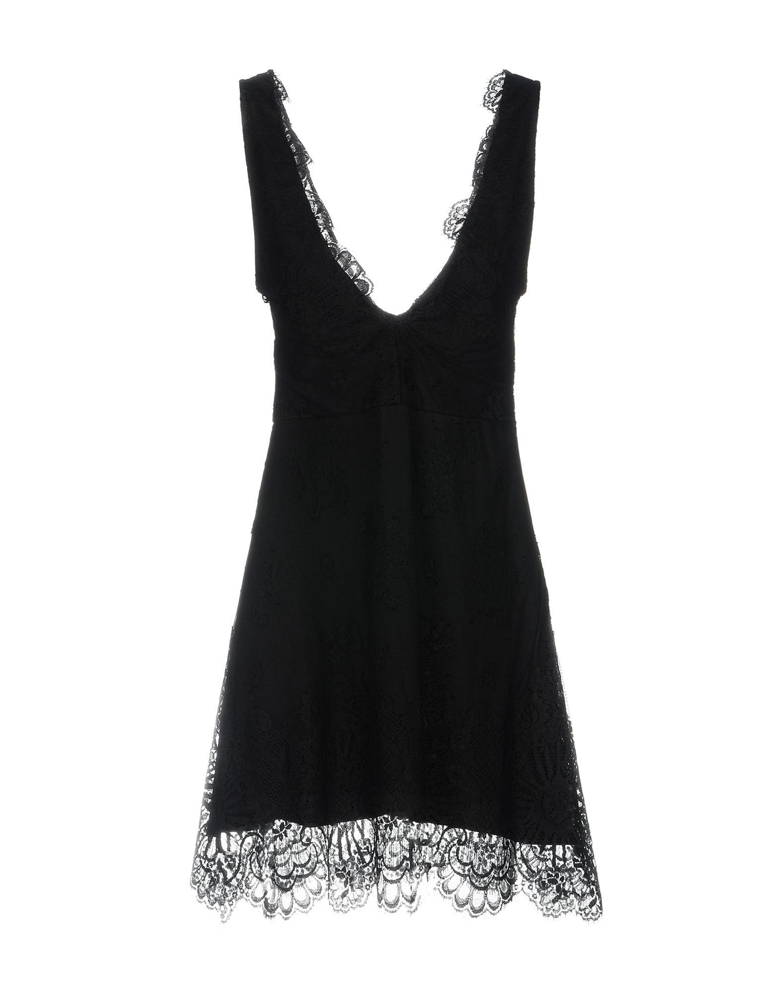 цена DV Roma Короткое платье онлайн в 2017 году