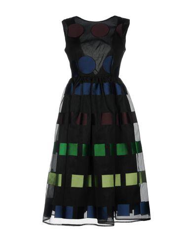 Платье до колена размер 42 цвет черный