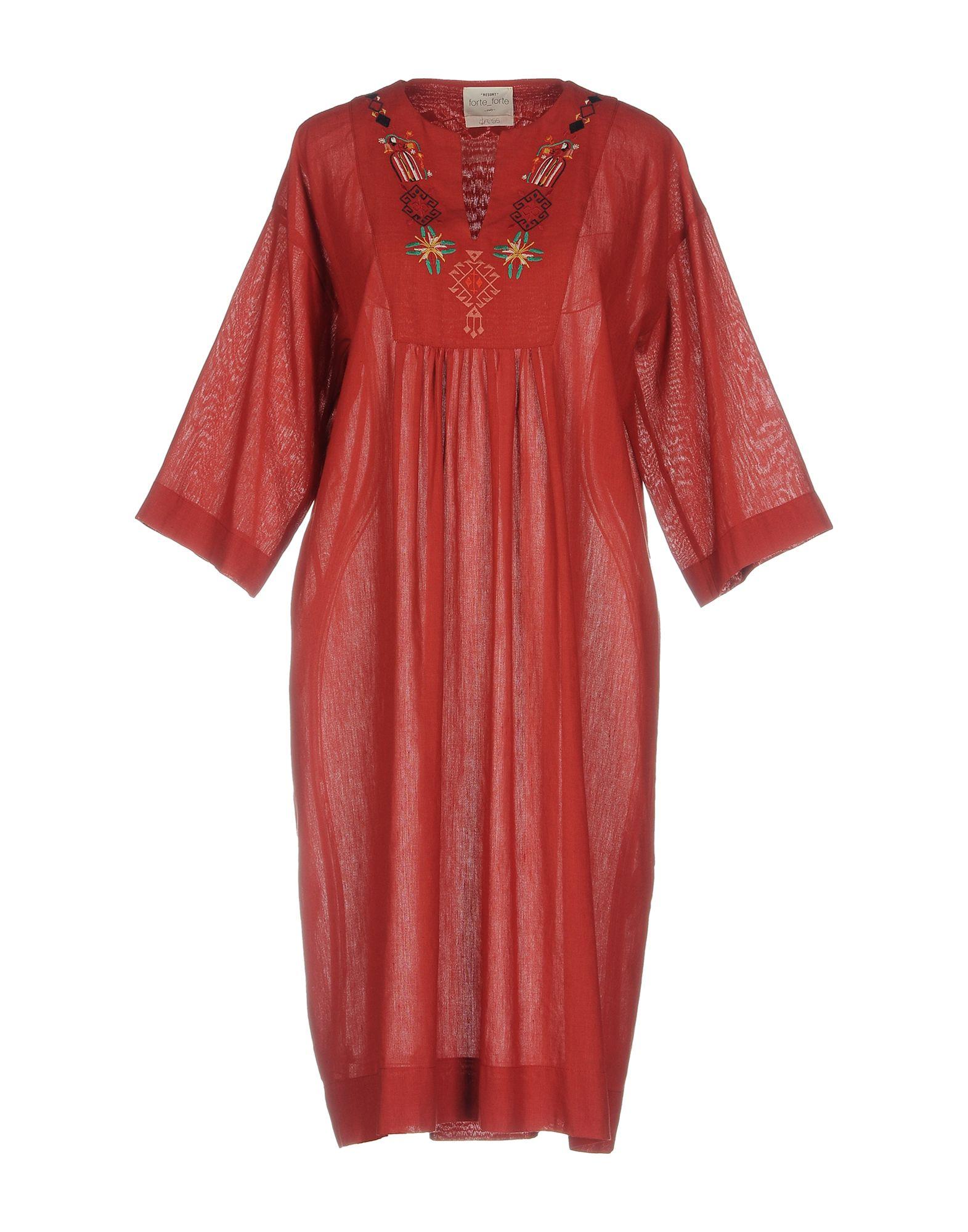 FORTE_FORTE Платье до колена цена 2017