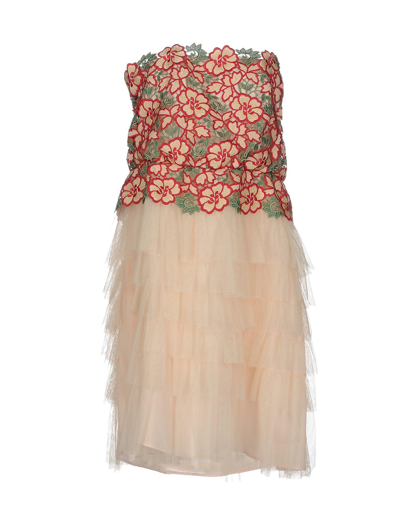 TRESOPHIE Damen Kurzes Kleid Farbe Hellrosa Größe 2