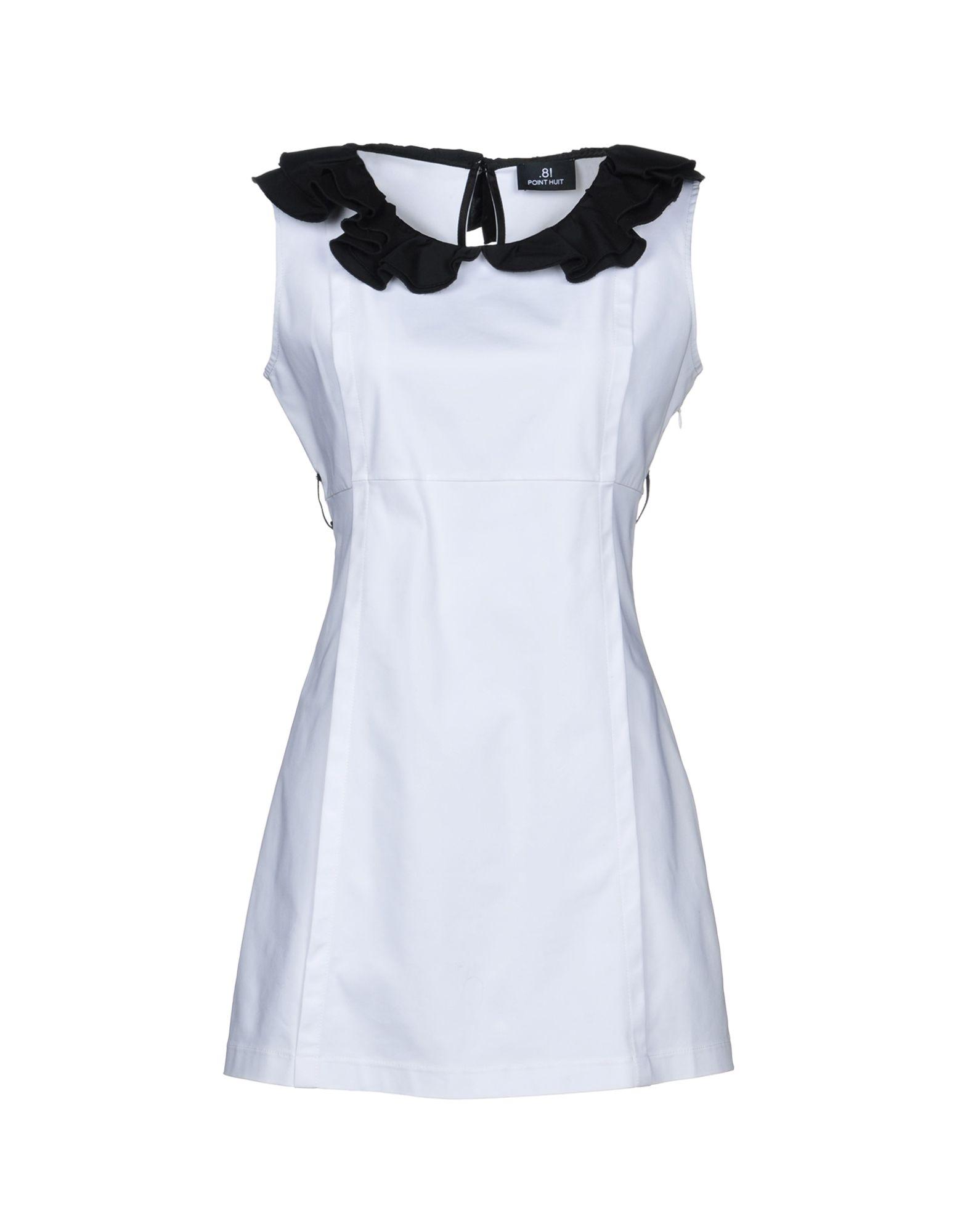 .8! POINT HUIT Короткое платье 8 point huit юбка до колена