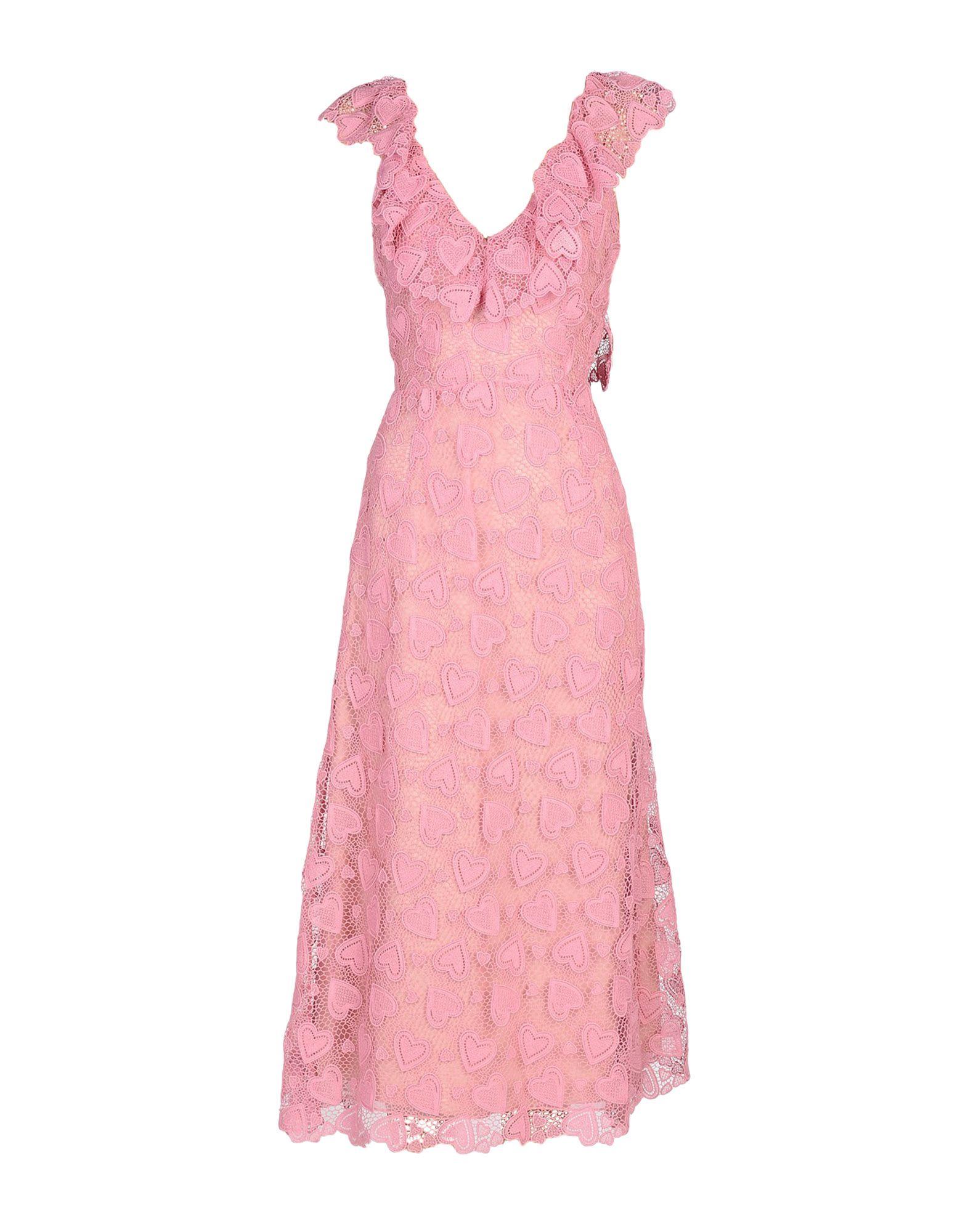 MIU MIU Платье длиной 3/4 miu miu платье от miu miu 71748