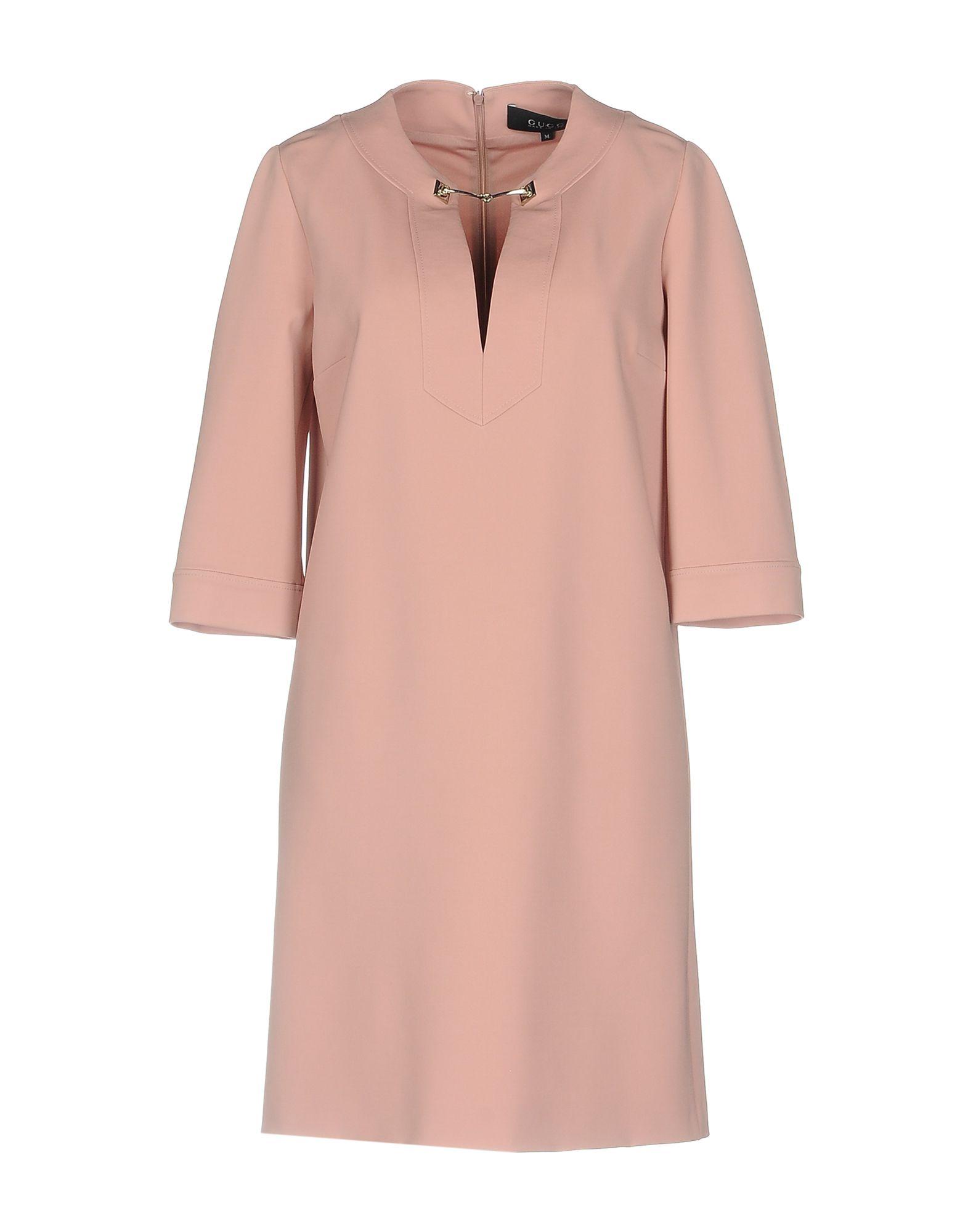 GUCCI Damen Kurzes Kleid Farbe Rosa Größe 5