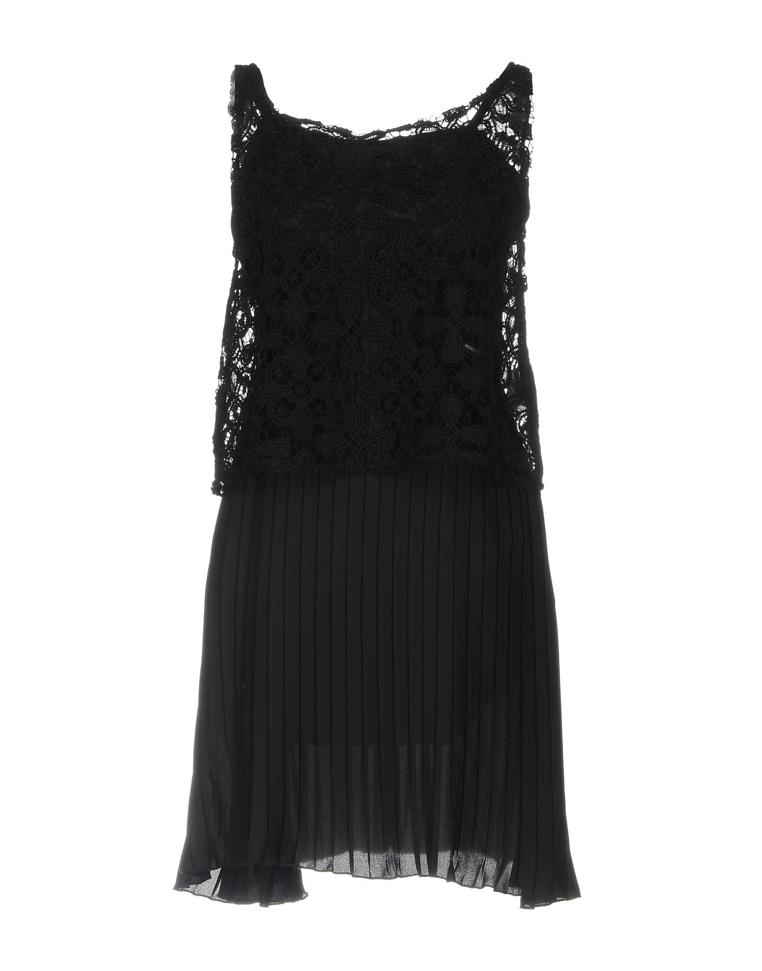 купить MAISON ESPIN Короткое платье по цене 7500 рублей