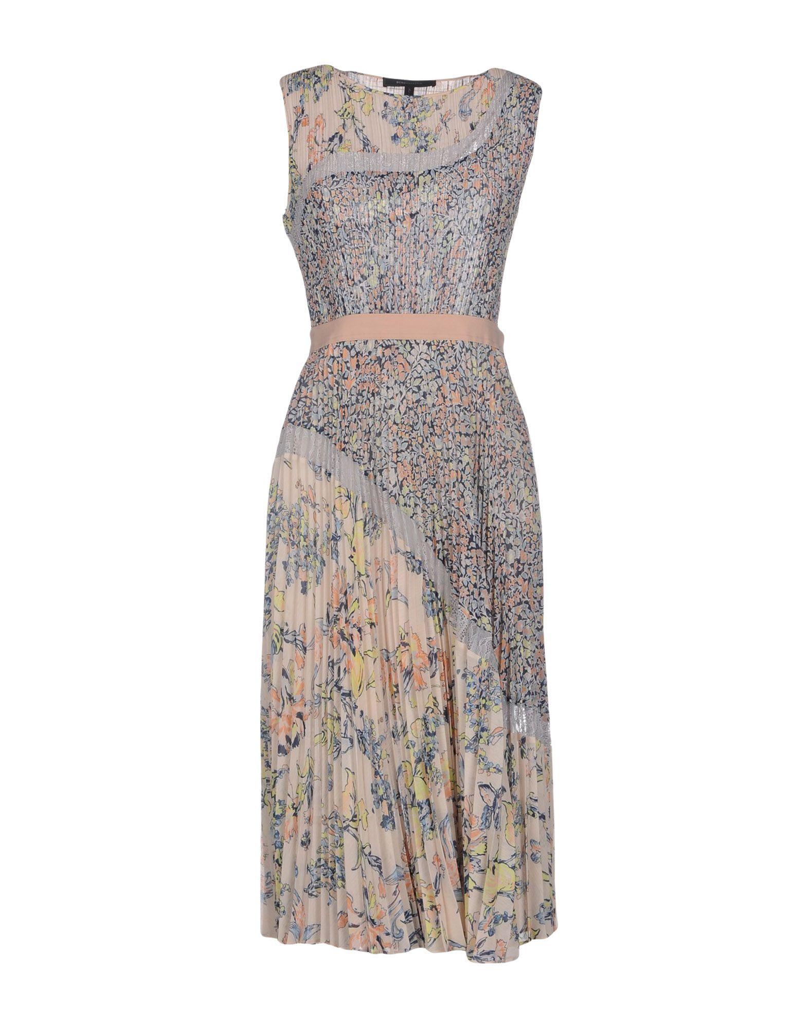 BCBGMAXAZRIA Платье до колена цены онлайн