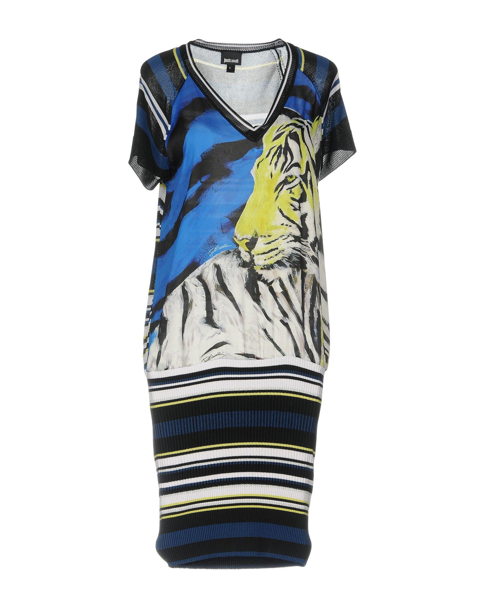 JUST CAVALLI Платье до колена цена 2017