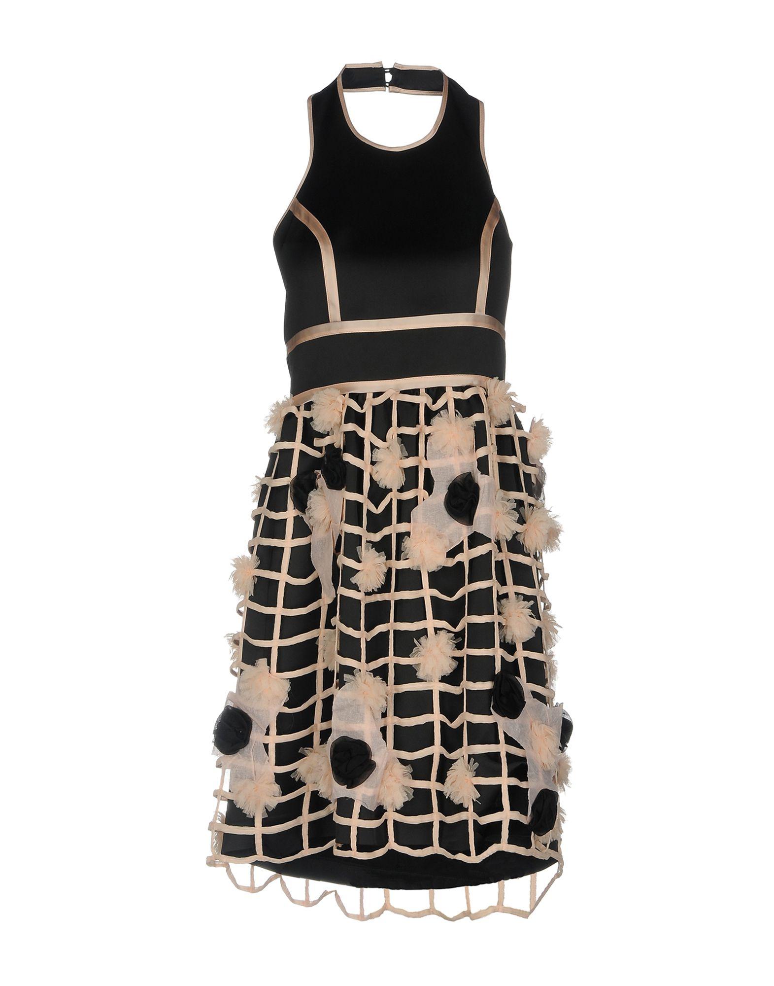 MAESTRI Платье до колена цена 2017
