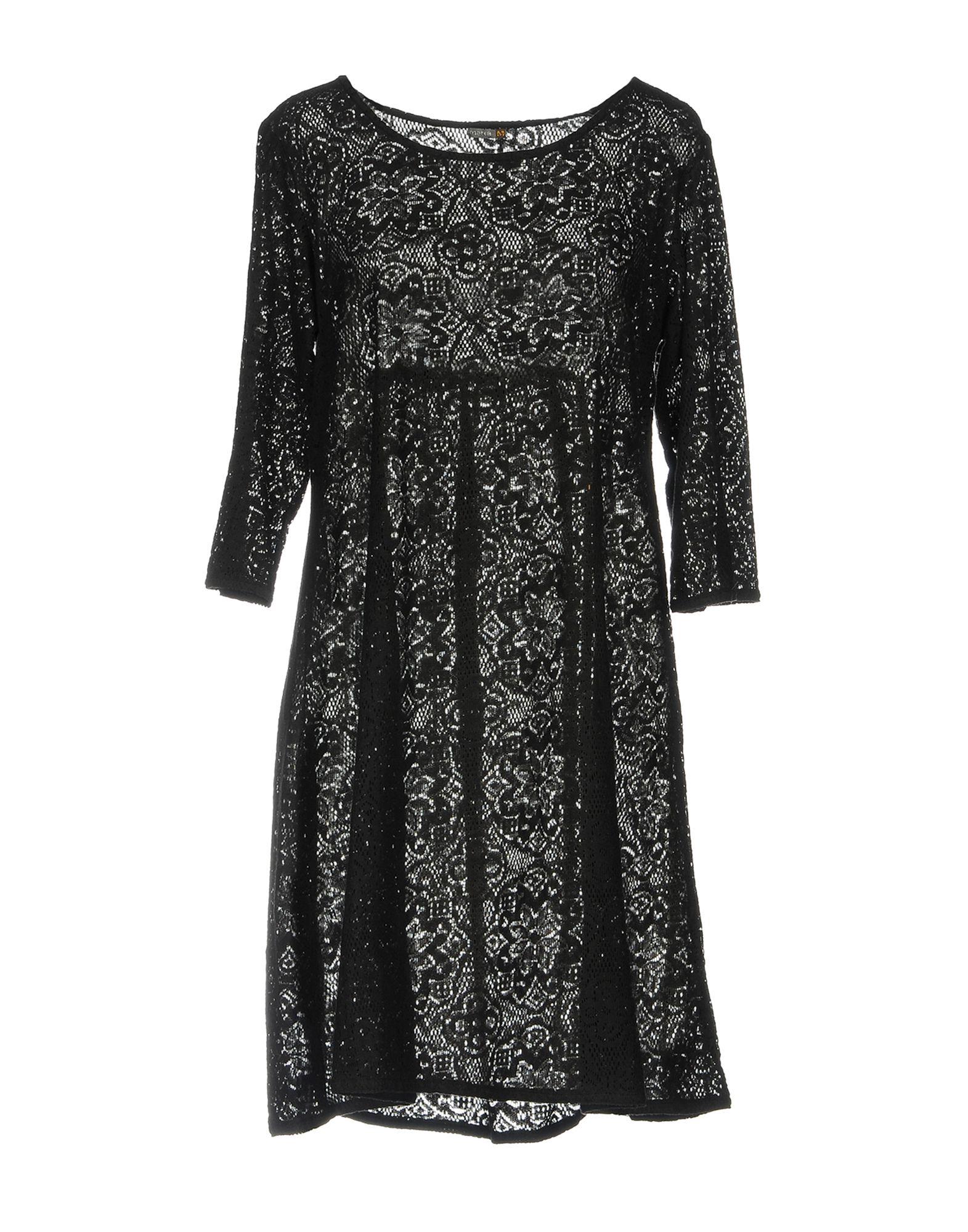 MATTA Short Dress in Black