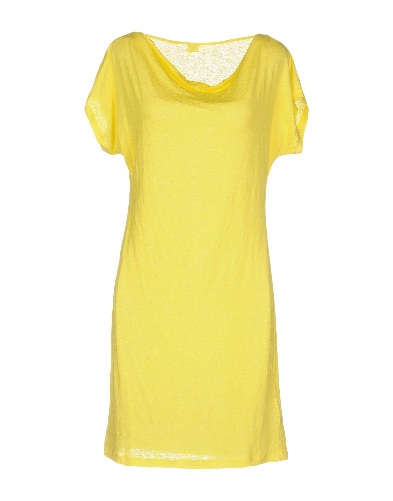 120% LINO Короткое платье