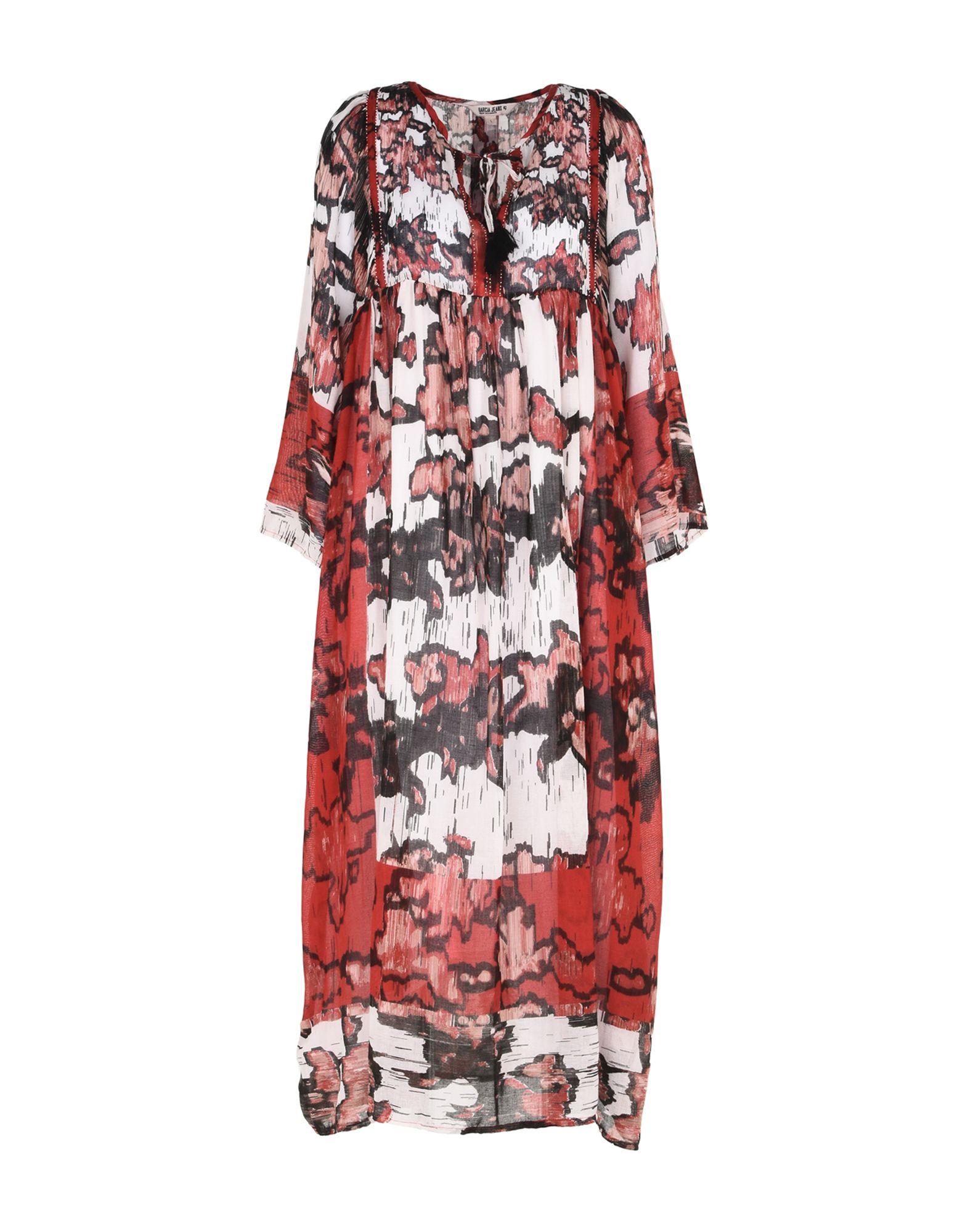 GARCIA JEANS Платье длиной 3/4 garcia jeans платье до колена