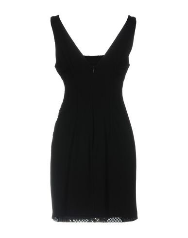 Фото 2 - Женское короткое платье ALMAGORES цвет стальной серый