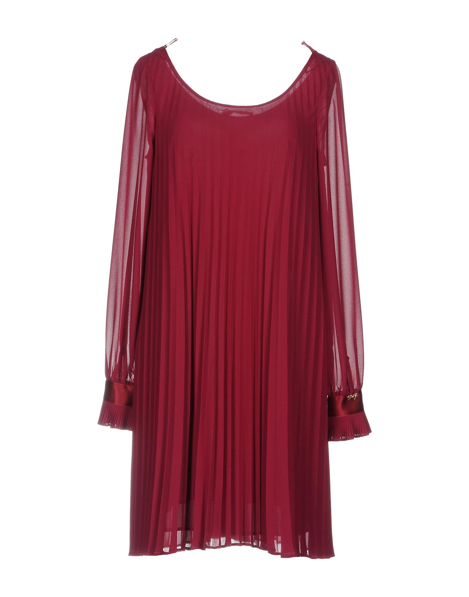 LES COCKTAILS DE LIU •JO Damen Kurzes Kleid Farbe Purpur Größe 4