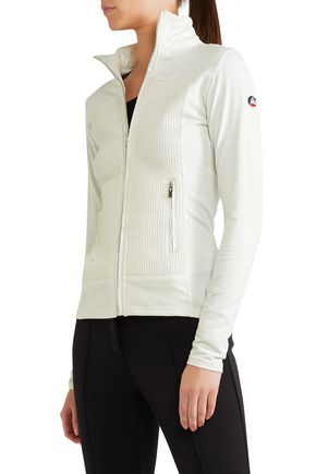 FUSALP Anna quilted shell and stretch-jersey jacket
