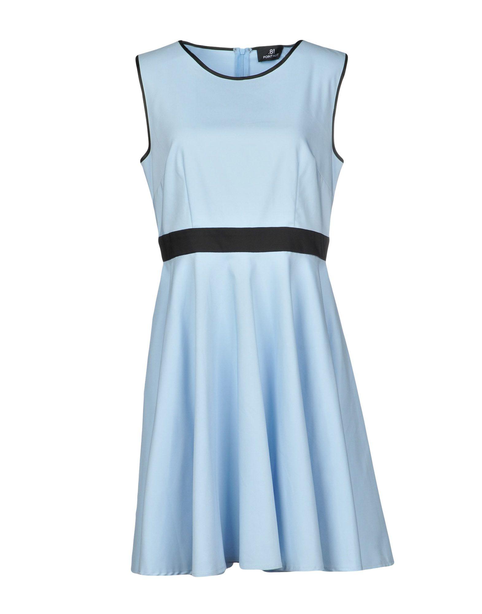 .8! POINT HUIT Короткое платье 8 point huit повседневные брюки