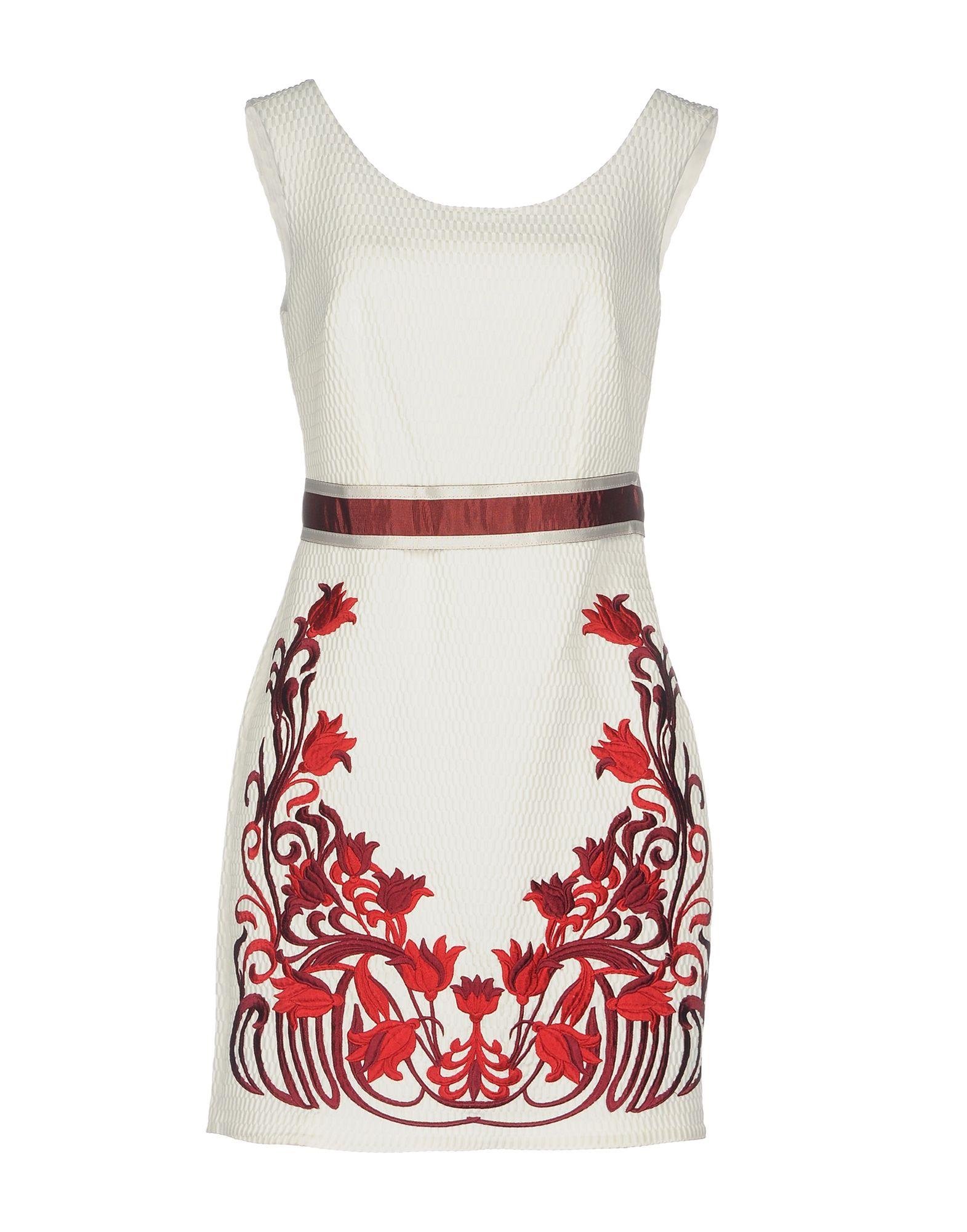 ALLURE Короткое платье allure luxury wear короткое платье