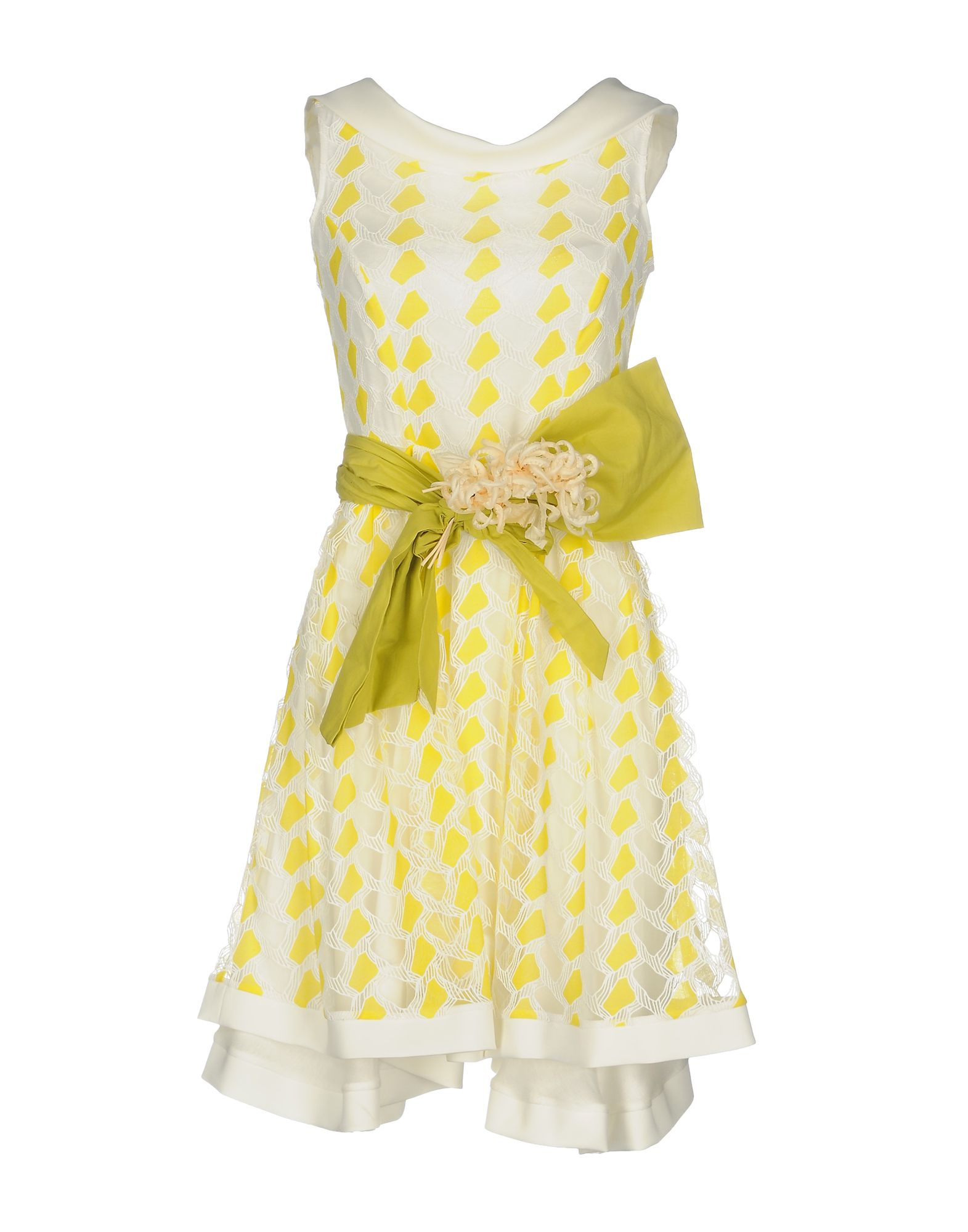цена SONIA FORTUNA Короткое платье онлайн в 2017 году
