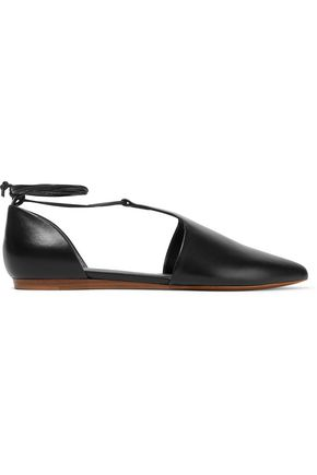 VINCE. Noella leather point-toe flats