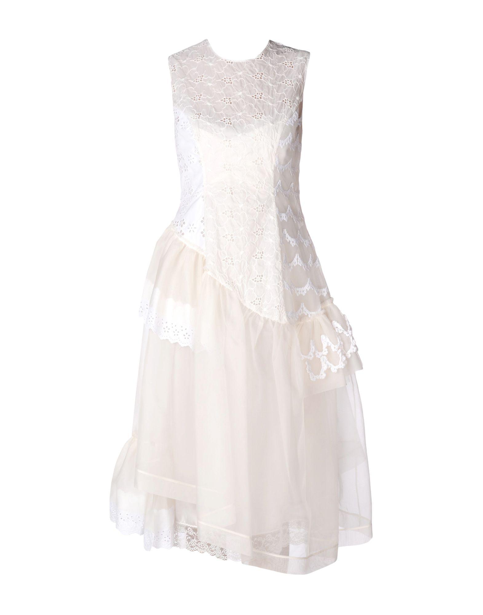 цена SIMONE ROCHA Платье до колена онлайн в 2017 году