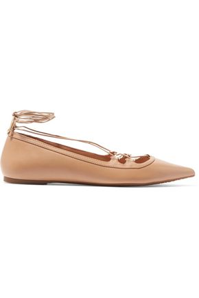 MICHAEL MICHAEL KORS Tabby leather point-toe flats