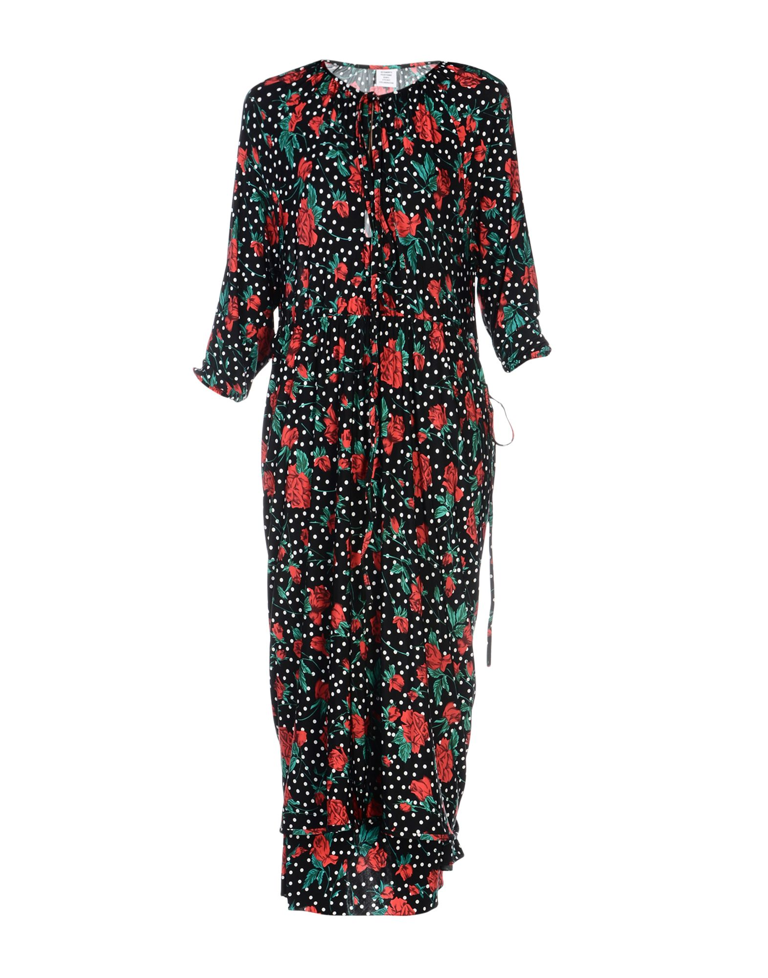 VETEMENTS Платье длиной 3/4 lisa corti платье длиной 3 4