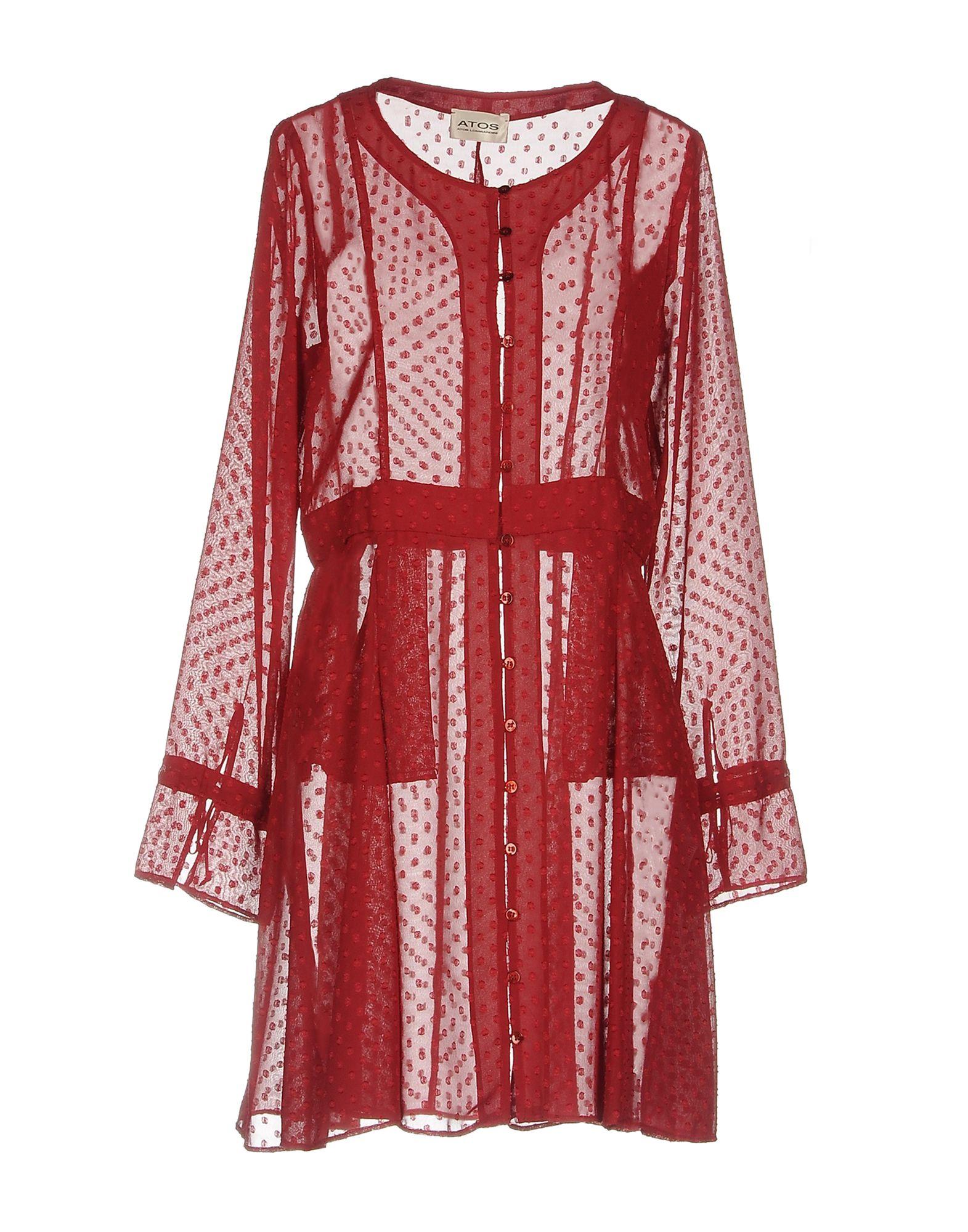 ATOS ATOS LOMBARDINI Короткое платье atos lombardini короткое платье
