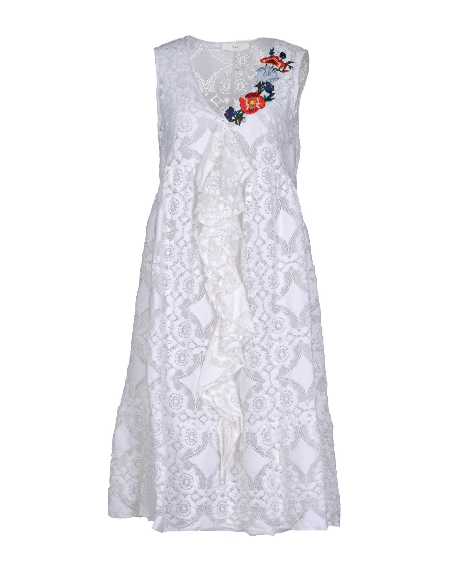 SUOLI Платье длиной 3/4 lisa corti платье длиной 3 4