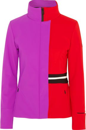 FENDI Color-block stretch-shell ski jacket