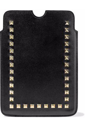 VALENTINO Rockstud leather tablet case