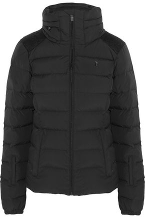 WOMAN SUPREME MEGEVE QUILTED SHELL DOWN SKI JACKET BLACK
