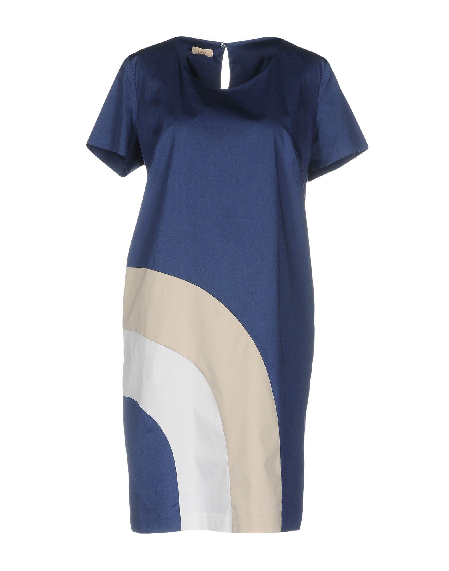 ALTEA dal 1973 Короткое платье altea dal 1973 джинсовая рубашка