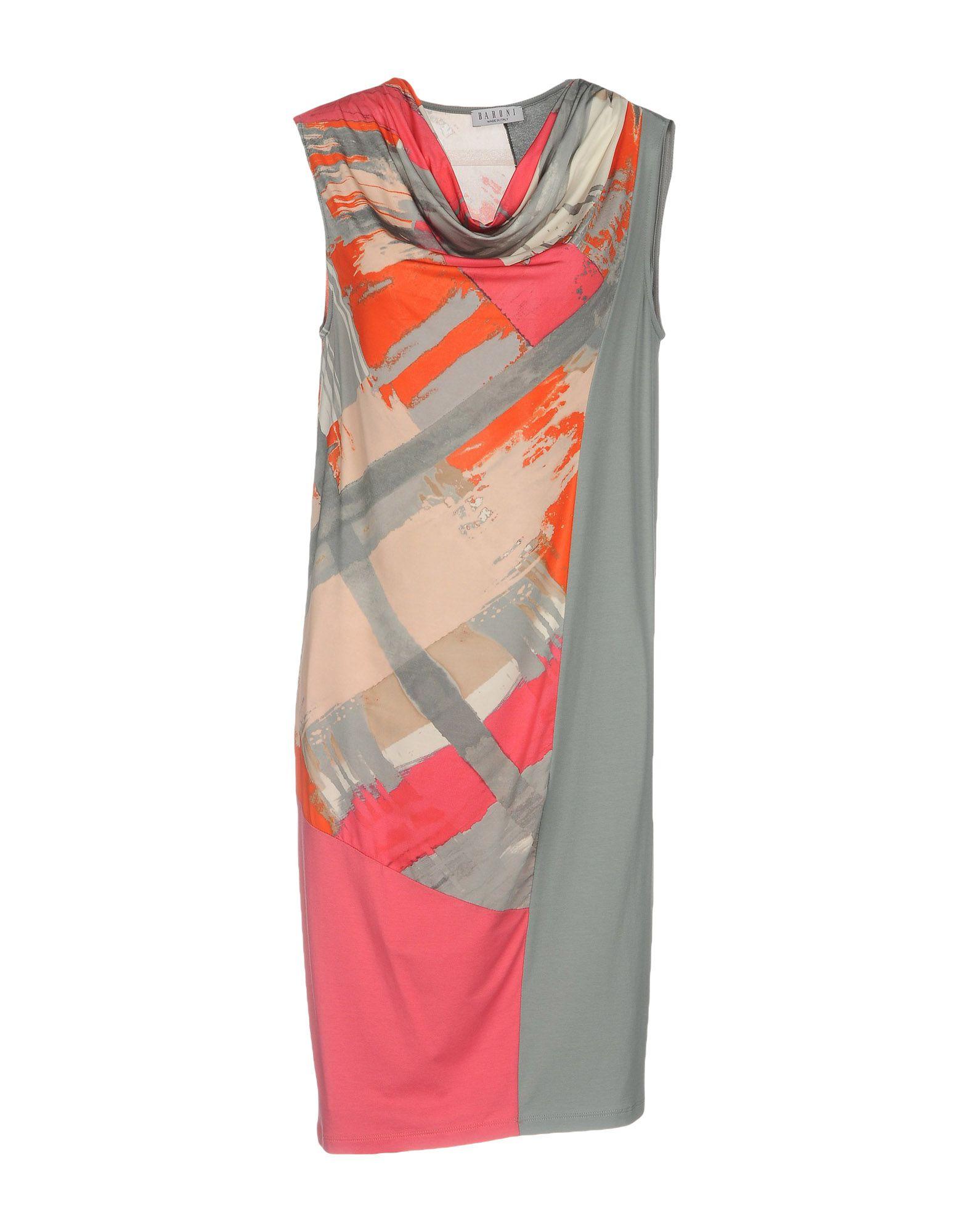где купить BARONI Платье до колена по лучшей цене