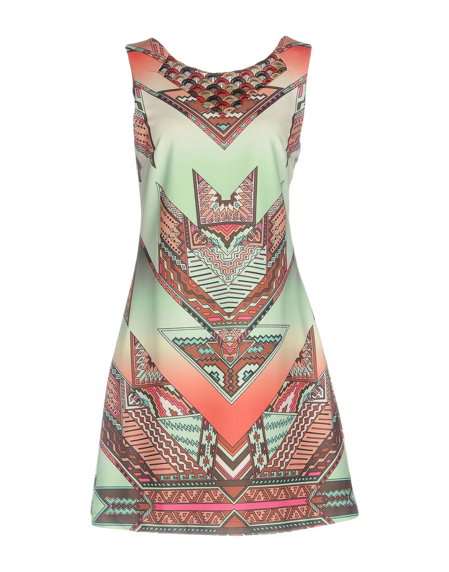 CUSTO BARCELONA Короткое платье цена 2017