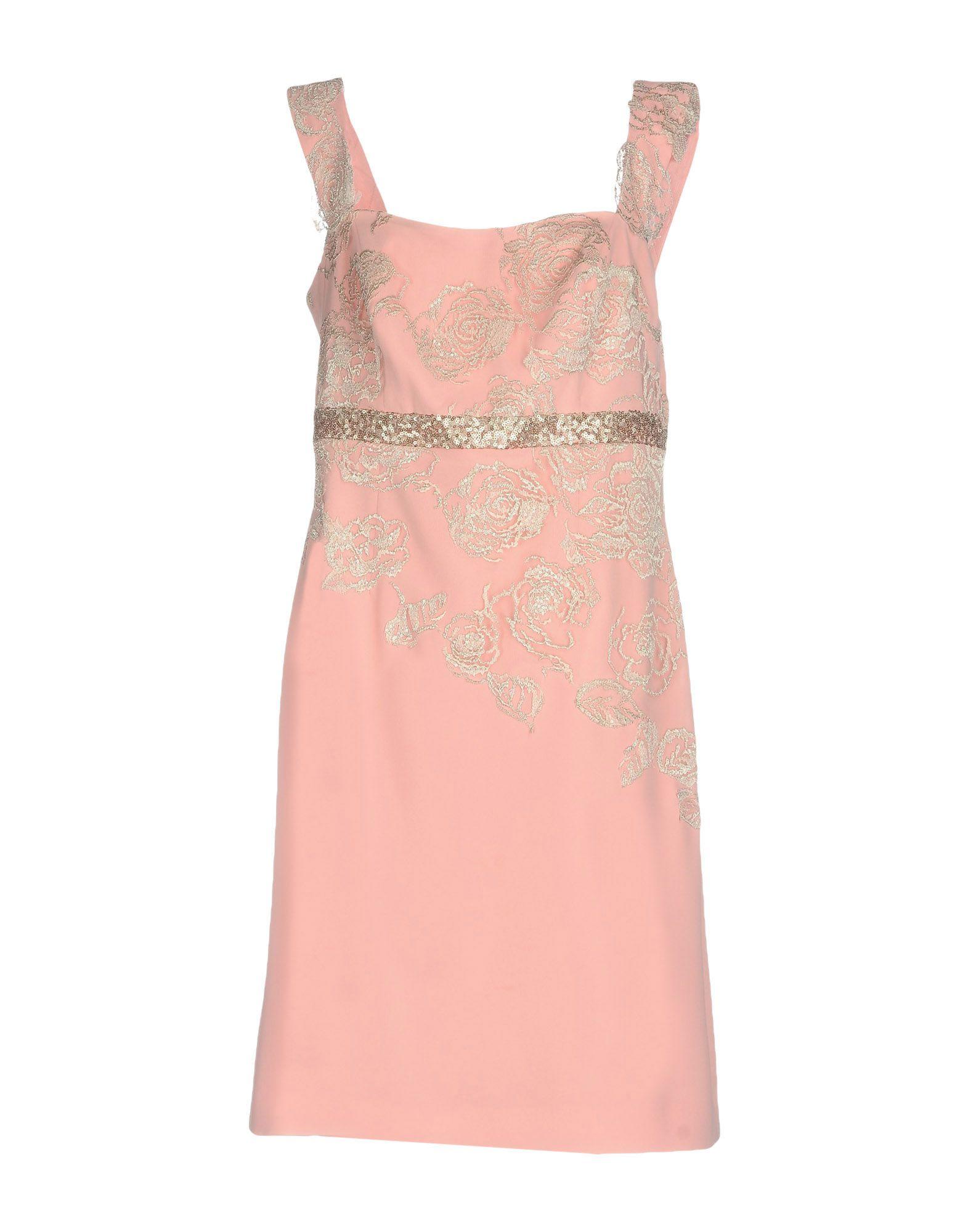 LINEA RAFFAELLI Короткое платье платье prima linea цвет красный белый