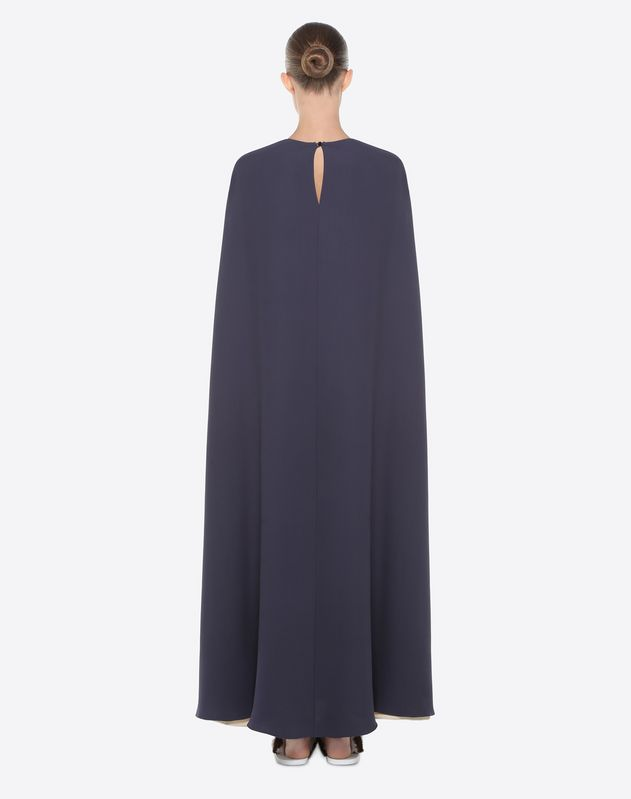 Light cady cape dress